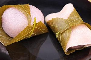 桜餅(関西風・関東風)